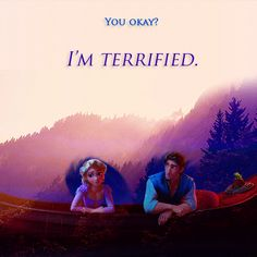Terrified...Zachary Levi (voice of Flynn Rider) sings that song with Katherine McPhee! --- I really recommend this song! Look it up on YouTube, you won't regret it!!! (Terrified by Katherine Mcphee and Zachary Levi.)