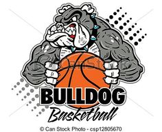 bulldog basketball clipart  http://www.canstockphoto.com/bulldog-with-basketball-12805670.html