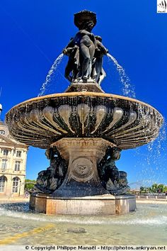 Fontaine des Trois Grâces, Bordeaux (Aquitaine, Gironde)