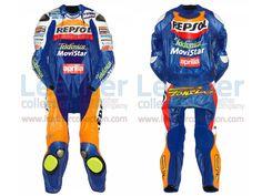Fonsi Nieto Aprilia GP 2003 Leather Suit  https://www.leathercollection.com/en-we/fonsi-nieto-aprilia-leather-suit.html  #Aprilia_Suit, #Fonsi_Nieto, #Fonsi_Nieto_Aprilia_GP_2003_Leather_Suit