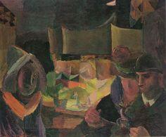 Louis Moilliet |  Das kleine Karussell (The little carousel), 1918