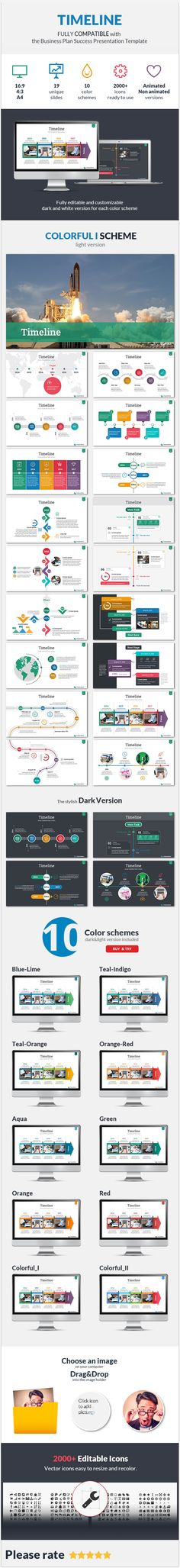 Timeline Success PowerPoint Presentation Template — Powerpoint PPTX #communication #infographic • Download ➝ https://graphicriver.net/item/timeline-success-powerpoint-presentation-template/19073585?ref=pxcr
