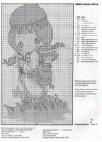 Gallery.ru / Фото #1 - PM - THE BURDEN IS EASY - Chispitas Cross Stitch Samplers, Cross Stitch Charts, Cross Stitch Embroidery, Cross Stitch Patterns, Precious Moments, Little People, Hand Stitching, Needlepoint, Native American