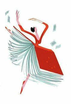 Los libros y la danza...