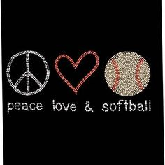 Love softball!!! ;)