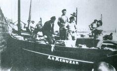 """Dz 3179 """"Ar Menuzar"""", 1934  Galerie de bateaux de pêche de DOUARNENEZ (chaloupe) - www.bagoucozdz.fr"""