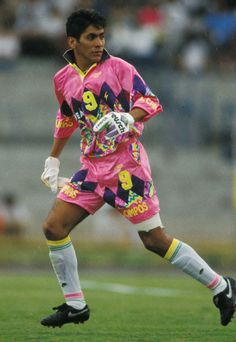 Jorge Campos, Mexican Goalkeeper