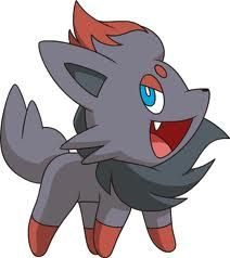 Pokémon Challenge: Day 17. If I were a Pokémon, I would be a Zorua.  You can be sure I'd constantly be pulling illusion pranks on people. Plus it's a dark type<3