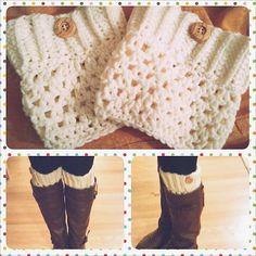 Ravelry: Crochet Boot Cuffs pattern by Justine Vo