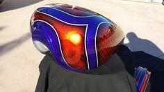 Serbatoio #aerografiaanzanello #kustompaint #metalflake #style #race #motorcycles