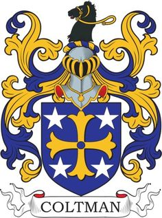 Coltman Family Crest and Coat of Arms