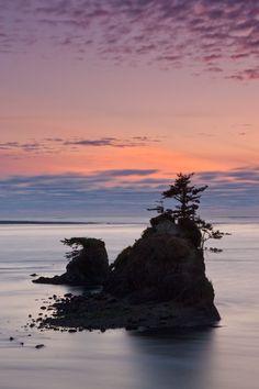 Siletz Bay, Lincoln City, Oregon by Chad Scott #Oregon