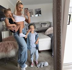 Happy Sunday babes 🌈 Dress is Chubby Babies, Cute Babies, Tammy Hembrow, Pretty Baby, Family Goals, Celebrities, Instagram, Women, Mamma