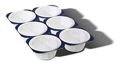 6 Cup Paper Muffin  Cupcake Baking Panmicrowave safegreaseresitants easy to handle  no baking pan required 2ozs 3 MT224 *** You can get more details by clicking on the image.