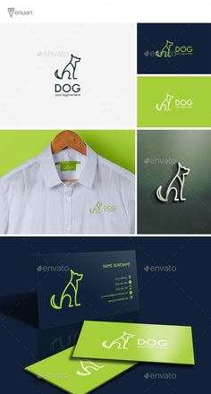 Dog Logo Template PSD, Vector EPS, AI Illustrator. Download here: http://graphicriver.net/item/dog-logo/16019783?ref=ksioks
