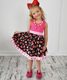 Pink Slice of Love Amy Dress - Infant, Toddler & Girls