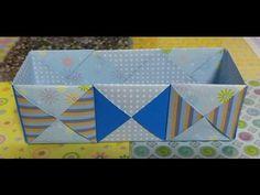 527.딱지모양상자접기.오월의장미.origami - YouTube