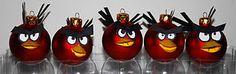 Angry Birds -This year's homemade christmas ornaments