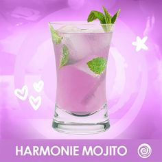 Give your mojito a fab twist with a little help from Harmonie. Premium White Rum, Touch of Lime Juice, Mint Leaves Hypnotic Drinks, Craft Projects, Projects To Try, Alcoholic Drinks, Cocktails, 21 And Over, Party Drinks, Mojito, Lime Juice