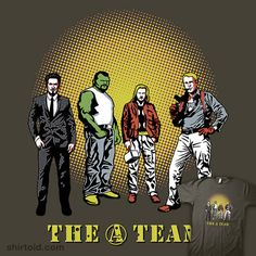 The A-> Team  Combining my 2 favorite movies? Yes, please!
