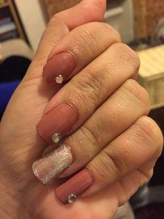 #glitter#nails#gem