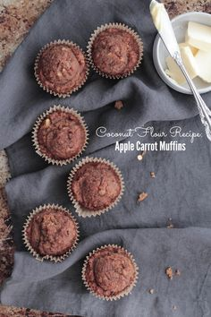 Learn how to use coconut flour plus over 15 recipes using coconut flour and a recipe for coconut flour apple carrot muffins.