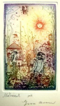 Szász Endre Galéria - Szigetszentmiklós Fairy Land, Hungary, Vintage World Maps, Art, Art Background, Kunst, Performing Arts, Art Education Resources, Artworks