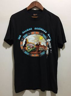 Vintage RARE 1996 The Allman Brothers Band Tour T Shirt SIZE S-2XL REPRINT