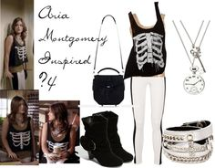 """""""Aria Montgomery Inpired #4"""" by kaylee-kimberlin on Polyvore"""