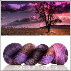 Dawn pearlescent fingering yarn - 550 yd - by expression fiber arts
