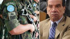 Um dos comandantes das Forças Armadas pediu reunião urgente com o Líder do PSDB no Senado, senador Aloysio Nunes (SP) A reunião está marcada para amanhã (29). Uma das causas que revela o 'fun…