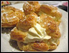 Cream Puffs with Pearl Sugar | Recipe | Pearls, Sugar and Cream