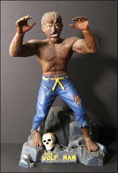 Aurora Models monster kit...Wolf Man