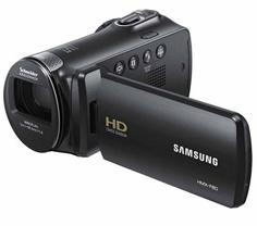 Der Camcorder HMX-F80 von Samsung ist ein kompaktes Gerät für die ganze Familie. Neben einem 5 Megapixel CMOS-Sensor verfügt die Kamera über einen 52-fachen optischen Zoom, um wirklich jede Actionszene perfekt festzuhalten. So bannt die F80 wunderschöne HD-Videos auf die SD-Speicherkarte.