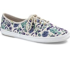 Women - Champion Garden Party - Light Gray Floral | Keds