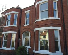 UPVC sliding sash window manufactured and fitted by Everite Windows http://www.everitewindows.com/Sash-Windows