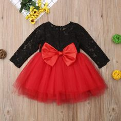 The Fancy Holiday Lace Tutu Christmas Dress from Jadey& Closet Dress Boutique. Fashion clothing for baby, infant, toddler, kids, children. Floral Lace Dress, Lace Dress Black, Dress With Bow, Flower Dresses, Holiday Dresses, Holiday Outfits, Toddler Girl Dresses, Girls Dresses, Tutu Party