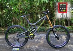 Downhill bikes Downhill Bike, Mtb Bike, Moutain Bike, Mountain Biking, Santa Cruz Mtb, Full Suspension Mtb, Bike Style, Road Bikes, Rocky Mountains