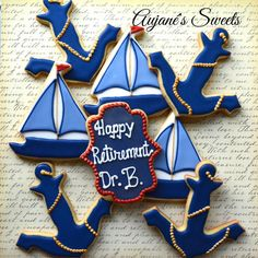 Nautical Theme   Cookie Connection