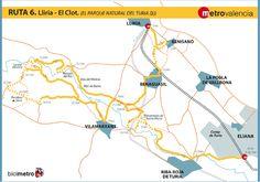 Metrovalencia - Bicimetro - El parque natural del Túria (2)