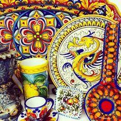 Bonechi Imports Handmade Italian Maiolica/Majolica/Pottery/Ceramics!