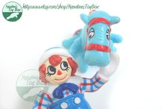 Hey, I found this really awesome Etsy listing at https://www.etsy.com/listing/160622900/1980s-toys-raggedy-andy-and-the-camel