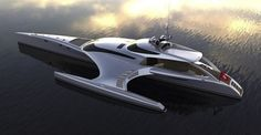 Adastra super yacht is a one-of-a-kind aquatic marvel. In the world of boating, there are yachts, super yachts, and then there's the Adastra, a massive, custom built masterpiece of engineering that looks more like a spacecraft from Star Wars than an actual vehicle.