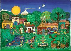 'Cuernavaca', Beatriz Aurora / EZLN, pintura, arte zapatista