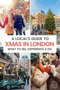 A Local's Guide On What To See, Do And Experience In London At Christmas. Have An Incredible Winter Vacation In London And Celebrate Christmas Like A Local. Snap To Start Planning You London Christmas Experience. Christmas In England, Holidays In England, London Christmas, Christmas Travel, Christmas Markets, London What To See, Things To Do In London, London England, Christmas Things To Do