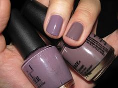 "Paws to Polish: OPI's ""Parlez-vous OPI?"" and China Glaze ""Below Deck"" Comparison"