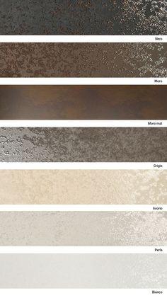 Laminam Oxide for shower walls. Gold Wallpaper For Walls, Wall Wallpaper, Home Room Design, Home Interior Design, House Design, Ceiling Design, Wall Design, Wall Colors, House Colors