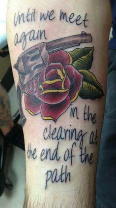 My Dark Tower tattoo.