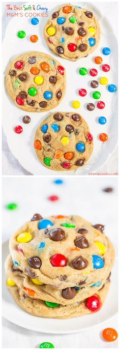 The Best Soft And Chewy M M S Cookies