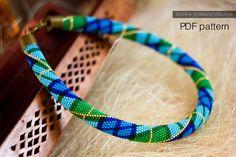 A personal favorite from my Etsy shop https://www.etsy.com/listing/601848347/pattern-bead-crochet-tartan-necklace-pdf